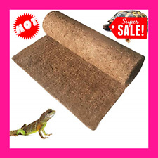 New listing Bearded Dragon Carpet Coco Fiber Substrate Lizard Cage Bearded Dragon Mat Liner
