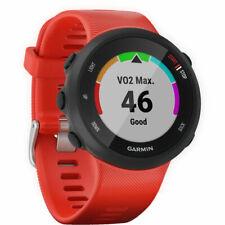 Garmin Forerunner 45 GPS com monitor de frequência cardíaca Relógio Inteligente (Lava Vermelho)