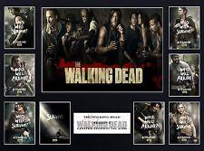 The Walking Dead Season 5  (16 x 12) Display