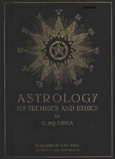 Astrology: It's Technics and Ethics * Horoscope * Zodiac * CDROM * PDF