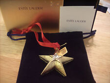 "Estee Lauder Solid Perfume Compact ""Holiday Star"" Mint"