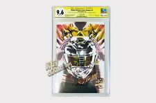 SDCC Mighty Morphin Power Rangers #5 BLACK ARMOR VARIANT SIGNED CGC SS 9.6