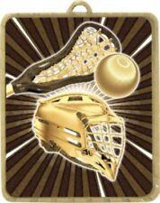 Lacrosse Medal  63x75mm Engraved FREE