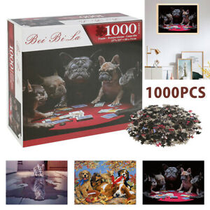 🔥1000Pz Puzzle Simpatici Animali Domestici Giocattoli Educativi Puzzle Bambini
