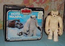 vintage Star Wars ESB HOTH WAMPA WITH BOX Kenner