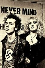 """1970's Sid Vicious Bassist Sex Pistols w/Nancy Spungen 4""""x6"""" Reprint Photograph"""