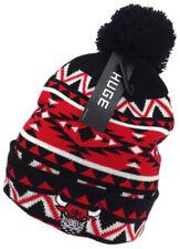 NEW Chicago Bulls Knit Beanie Skull Cap Hat Pom Tribal Print Unisex One Size Sz