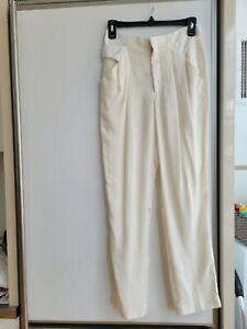 Theyskens Theory Silk Pants (New, Size 0)