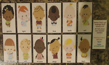 Babies first Sign Language flash cards, all rounded corners 10cm x 5cm