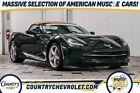 2014 Chevrolet Corvette  2014 Chevrolet Corvette Stingray Base 26,834 Miles Lime Rock Green Metallic 2D C