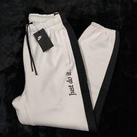 Nike Sportswear Men's JDI Heavyweight Just Do It Pants BV5535-100 Sz S MSRP $90