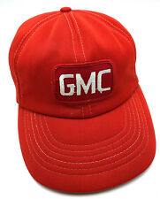 Vintage GMC red adjustable cap / hat