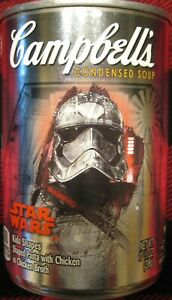 Star Wars Campbell Soup Collectible Can Captain Phasma, Brand New