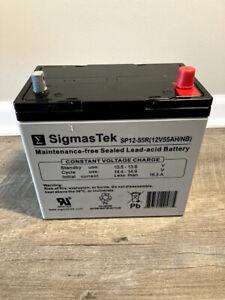 SigmasTek SP12-55R 12V 55Ah Sealed Lead Acid