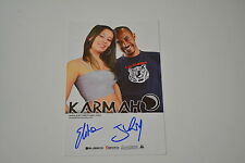 Karmah Signed Autograph In Person 10x15 cm Pop Band Italy, just be good to me