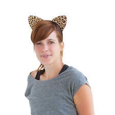 Haarreif Leopard Ohren Dress Kostüm Fasching Karneval