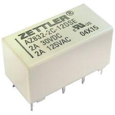 ZETTLER AZ832-2C-12DSE Relais 12V DC 2xEIN 3A 960R Polarized DIP Relay 855066