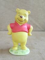 "Disney 4"" Winnie the Pooh porcelain Vintage figurine Walt Disney World"