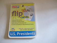 Flip Cards on the United States Presidents. Learn History. 7-12 Years. Fun .