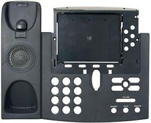 Cisco 7940 7941 7942 7960 7961 7962 IP Series Phone Top Housing Shell Charcoal