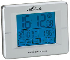 Atlanta digital radio despertador con pantalla táctil 1811/19