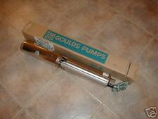 New GOULDS 3/4 HP 10 GPM SUBMERSIBLE WATER  WELL PUMP