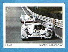 Nuova - MOTO - Ed. Raf - Figurina/Sticker n. 239 - MARTINI PORSCHE 917 -New