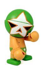 GREEN STAR DEVILROBOTS TREXI PLUS SERIES 1 DESIGNER VINYL MINI FIGURE