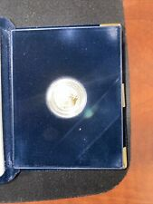 2001 W American Eagle $5 1/10 Oz. Proof Gold Coin with Box & COA One Tenth Ounce