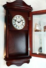 "NEW, 26"" BEDFORD Collection Quartz Westminster Chime Grandfather Wall Clock"