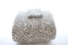 Charter Club Bedding Damask Designs Paisley 2-Pc TWIN Comforter Set Grey I114
