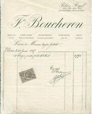 1885+Joaillier+Frédéric Boucheron+Boucheron+Palais Royal+papier filigrané