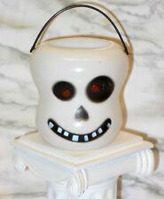 "3"" Halloween Skull Treat Bucket Doll Dollhouse Diorama Miniature American Girl"