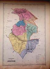 PERÚ,departamento de Ayacucho.Paz Soldán.Geografía del Perú 1865.