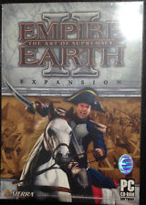 NEW*SEALED PC GAME EMPIRE EARTH II THE ART OF SUPREMACY (PC) (DVD) EXPANSION