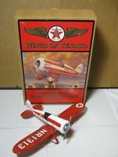 "Ertl 1930 ""Mystery Ship"" Die Cast Coin Bank Texaco Oil Airplane  T*"