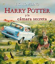 Harry Potter y la camara secreta  Ilustrado (Spanish Edition) by J. K. Rowling