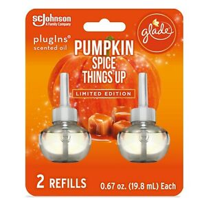 Glade PlugIns Refill 2 CT, Pumpkin Spice Things Up