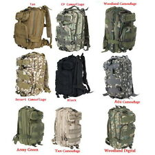 30L 3P Comfortable Waterproof Backpack Bag 600d Nylon Army Green