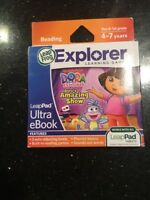 LeapFrog LeapPad 2 Dora the Explorer Dora's Amazing Show Ultra New In Box