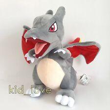 "Pokemon Sun/Moon GO Plush Black Charizard #006 Soft Toy Stuffed Animal Doll 12"""