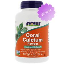 Now Foods, Coral Calcium Powder, 6 oz (170 g)