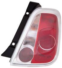 Fiat 500 Mk2 Hatchback 2008-12/2015 Rear Back Tail Light Lamp Drivers Side O/S