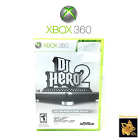 DJ Hero 2 (2010) Activision Xbox 360 Video Game Disc Case Manual Tested Works A+
