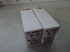 2 Stück Telemecanique XB4 BW35B5 Pulsante giallo 089206 non utilizzato