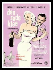 THE SEVEN 7 YEAR ITCH ✯ CineMasterpieces DANISH MOVIE POSTER MARILYN MONROE 1955