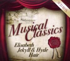 Musical Classics Sony 3 CD Box Elisabeth Hair Jekyll & Hyde