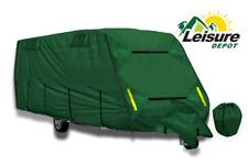 Leisure Depot Premium Caravan Cover 5.84m 17-19ft eavy Duty 4 Ply Breathable