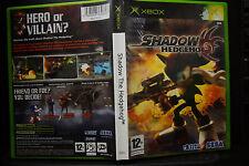 Shadow The Hedgehog - XBOX original - PAL UK - EXC