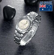 Wholesale Silver Crystal Stainless Steel Silver Dial Quartz Women's Wrist Watch